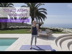 5 Moves for Toned Arms | Rebecca Louise - YouTube