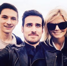 Jared, Colin and Jennifer