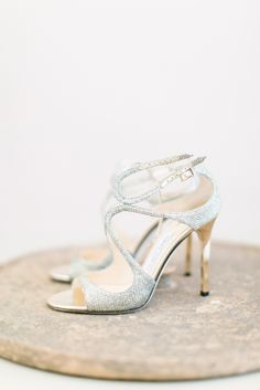 The best wedding shoes are the ones that you'd like to wear again & again #JimmyChoo #weddingshoes