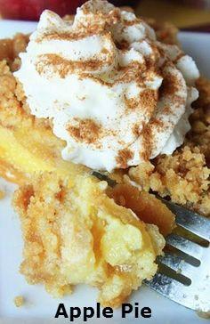 Buttermilk.Custard.Apple.Pie #food #recipe