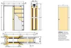 ECLISSE kaseta drzwi przesuwne chowane w ściane GK (standard)