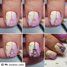 Nagel Art, Vintage Nails, Short Nails Art, Nail Tutorials, Summer Nails, Nail Designs, Girly, Beauty, How To Make