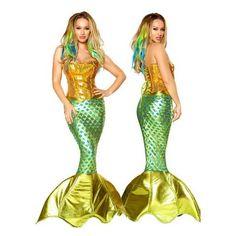 Siren of the Sea Sexy Mermaid Costume