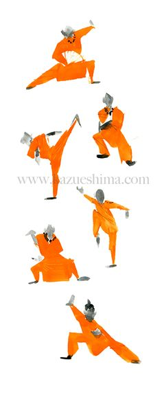 Beautiful Kung Fu, Shaolin temple.