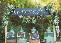 chalkboard lemonade stand