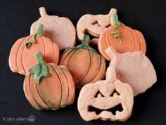 Catcakes - Repostería Creativa: Galletas de chocolate - Halloween