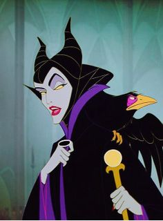 As much as I'm looking forward to the new Maleficent movie, no one will ever be as good as the original Maleficent. I'm sure Angelina Jolie did an amazing job, but there's something about the original. She's so, ladylike and elegant, yet so powerful and SCARY. You really can't help but respect and admire her. :)