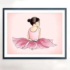 Instant download, printable Ballerina Art