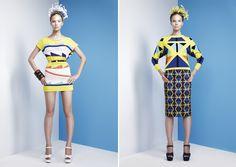love the dress on the left!   LUBLU by Kira Plastinina Spring 2013