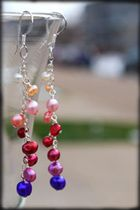 crafts o rama cascading bead earring. link does not work
