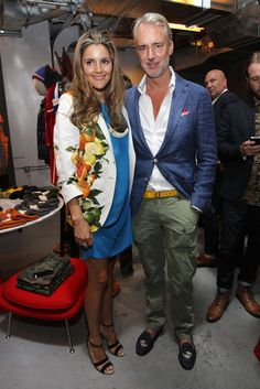 Michael Bastian in GQ & Nordstrom Launch Pop-Up Store On Fashion's Night Out