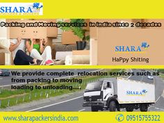 Shara Pakcers and Movers Providing 100% Satisfaction Service To Customers Since 2 decades, Hire #Shara For all your #Relocation Needs. We not only make relocation #easy but also #safe. www.sharapackersindia.com Contact Us: +91 9515755322, 09515755377