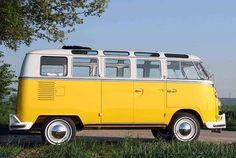Oldtimer VW T1 Bus Samba zum Mieten
