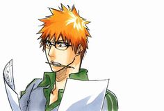 He's so hot with glasses. Bleach Art, Bleach Anime, Drink Bleach, Anime High School, Bleach Characters, Shinigami, Cartoon Movies, Me Me Me Anime, Art Sketches