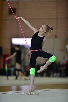 Alina ERMOLOVA (RUS) Rope Training