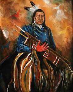 from Harvey Pratt, my favorite Native American artist and all-around good guy