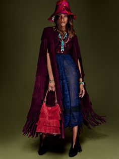 Landing the January 2016 cover of Vogue Japan, Jourdan Dunn gives major bohemian glam vibes in a fringed coat and red printed dress from Burberry. Inside the magazine, Jourdan poses for Giampaolo Sgura in eclectic patterns and rich colors selected by fashion editor Anna Dello Russo. ICYMI: Jourdan Dunn Stars in H&M's Christmas Campaign The …