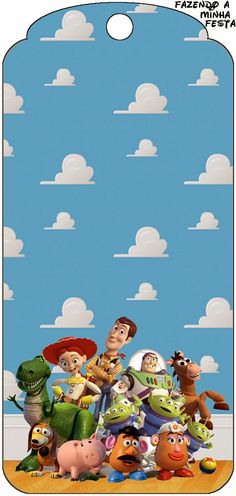Toy Story 3: Free Party Printables.