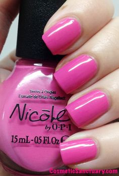 Nicole by OPI Tink Collection Swatches and Review