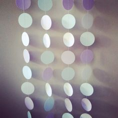 Hey, I found this really awesome Etsy listing at https://www.etsy.com/listing/164854748/lavender-mint-white-12-ft-circle-paper