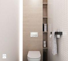 Aranżacje wnętrz - Łazienka: PROJEKT MIESZKANIA 55 m2 - Mała łazienka w bloku bez okna, styl minimalistyczny - STUDIO MAC. Przeglądaj, dodawaj i zapisuj najlepsze zdjęcia, pomysły i inspiracje designerskie. W bazie mamy już prawie milion fotografii!