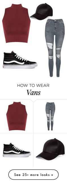 """""""Untitled #67"""" by sandovallorena on Polyvore featuring Topshop, WearAll, Vans and River Island"""