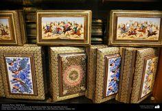 Artesanía Persa- Jatam Kari (Marquetería y Ornamentación de objetos) - 66 | Galería de Arte Islámico y Fotografía