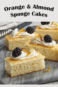 Your guests will love this elegant dessert option. Don't be fooled, its elegance takes nothing away from its delicate flavour. Delicious Desserts, Dessert Recipes, Elegant Desserts, Mothers Day Brunch, Whipped Topping, Sliced Almonds, Sponge Cake, Homemade Cakes, Cake Pans