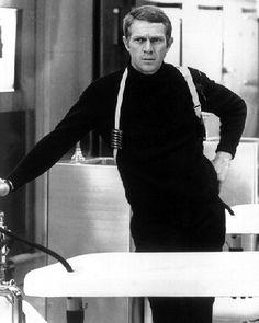Frank Bullitt (Bullitt), played by Steve McQueen.