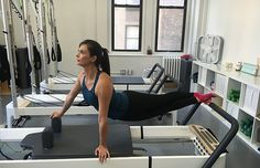 You don't need a reformer to reap the benefits of a Pilates workout. These total-body exercises will strengthen and tone your core, arms and back.  via @dailyburn