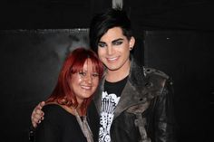 Adam Lambert & Magdalena (@Sroczka79). Pic taken in Berlin on 15.11.2010