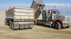 #Gravel #Hauling Services is must for the Construction Industry. For more detail call us now at +1 (780) 239-8610