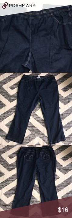 """3a269f9ee7b99 Just My Size Indigo Jeggings JMS elastic waist Jeggings in the color  """"Indigo"""""""