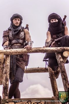 The mercenaries that dominate Abandale.  Kinda like gangs but more deadly with minimal guns