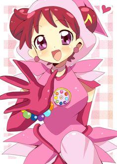 Tags: Anime, Ojamajo DoReMi, Harukaze Doremi, Hair Buns, Twin Buns, Pixiv Id 130345, Ojamajo Doremi 16