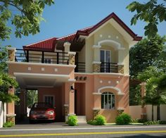 50 Best Inspiring Small Two Story House Design Ideas
