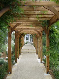 pergola walkway - Google Search