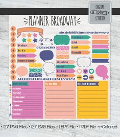 Planner Diy, Happy Planner, Printable Planner, Printables, Arrows, How To Draw Hands, Bubbles, Diy Projects, Pdf