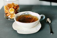 Sometimes I drink tea...