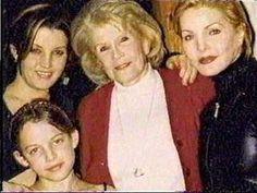 linda thompson and priscilla presley | ... Ann,Priscilla & Riley - priscilla-presley-and-lisa-marie-presley Photo