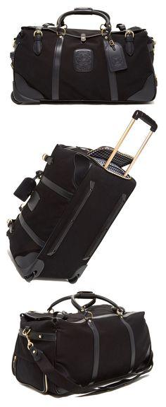 820aaeb74a Cute Rolling Luggage   Duffel Bag by Ghurka Kilburn