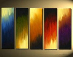 Decoration wall art abstract oil paintings