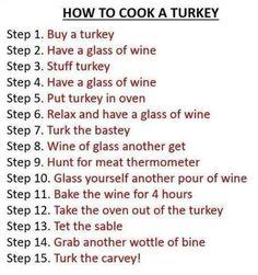 Thanksgiving traditions LOL