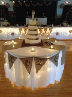 love the lights under the tables for night weddings