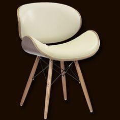 Eames Style Eiffel Chair Cream