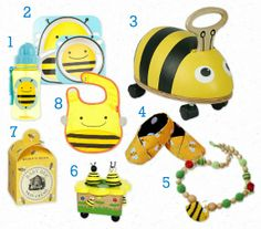 Bumble Bee Party Gift Ideas, perfect for a first birthday or baby shower - Love That Party
