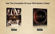 NOW AVAILABLE FOR PURCHASE! Get the Complete 10-hour Mini-Series Today! On Sale! $49.99 Each DVD or Blue ray