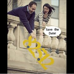 Funny save the date idea!