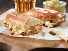 The chipotle flavoured tuna adds a deliciously exotic sensation to this sandwich. Pack a few for a road trip as you picnic on the way. Tuna Recipes, Quick Recipes, Gourmet Recipes, Cooking Recipes, Yummy Recipes, Recipies, Good Food, Yummy Food, Brunch