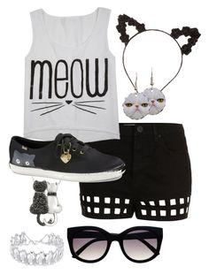 """""""Untitled #190"""" by ticci-toby ❤ liked on Polyvore featuring DB Designs, Topshop, Charlotte Russe, Keds and Dolce Giavonna"""